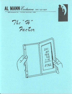 Al Mann - The H Factor PDF