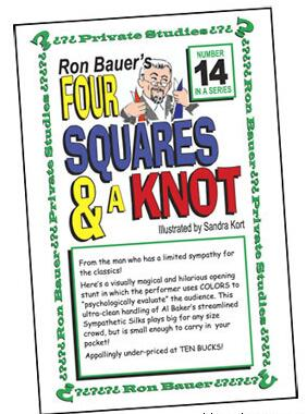 Ron Bauer - 14 Four Squares and a Knot