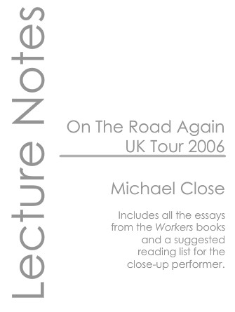 Michael Close - UK Lecture 2006