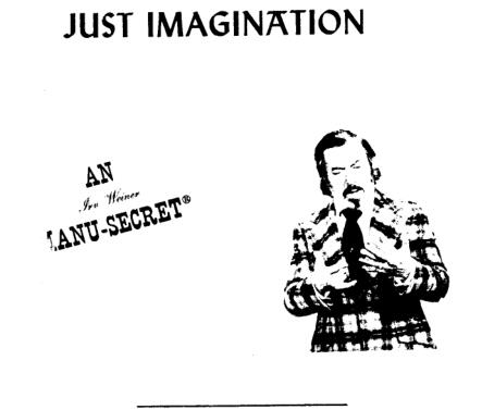 Irv Weiner - Just Imagination
