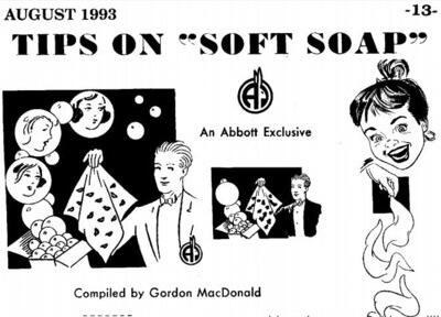 Abbots - Tips on Soft Soap