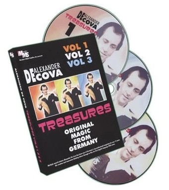 Treasures Alexander De Cova Vol 1-3