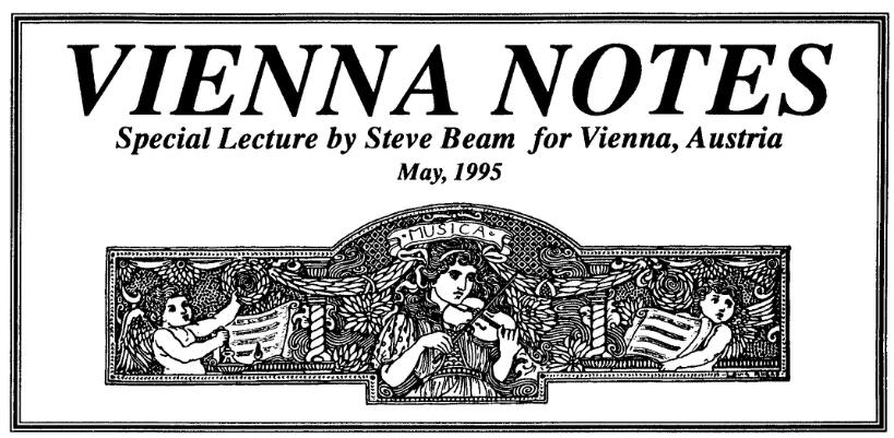 Steve Beam - Veinna Notes