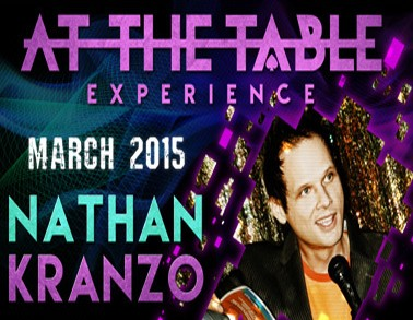 At the Table Live Lecture - Nathan Kranzo