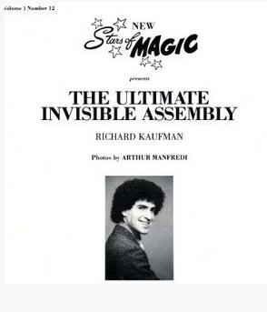 Richard Kaufman - The Ultimate Invisible Assembly