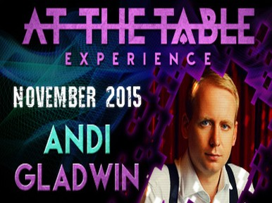 At the Table Live Lecture - Andi Gladwin