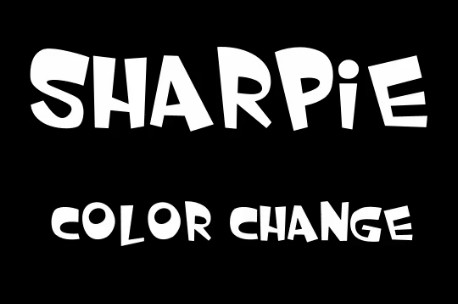 Sharpie Color Change By Manuel Llari Martin (Instant Download)