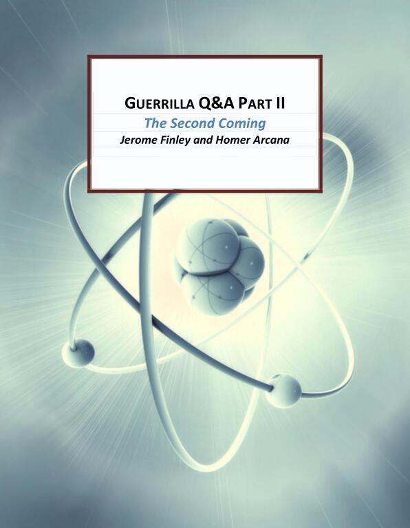 Jerome Finley - Guerilla Q&A part 2