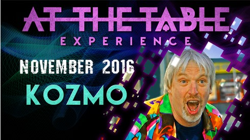 At The Table Live Lecture starring Kozmo November 16th 2016 video DOWNLOAD