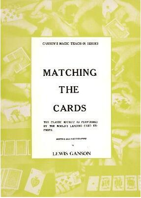 Lewis Ganson - Matching the Cards Teach-In