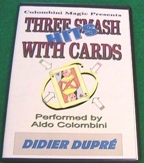 Aldo Colombini - THREE SMASH HITS WITH CARDS