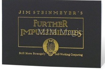 Jim Steinmeyer - Further Impuzzibilities
