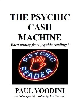 Paul Voodini - The Psychic Cash Machine