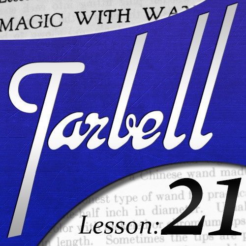 Dan Harlan - tarbell 21 Magic with Wands