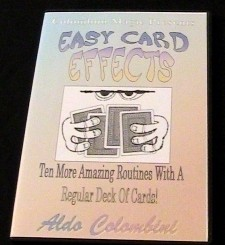 Aldo Colombini - Easy Card Effects (Video Download)