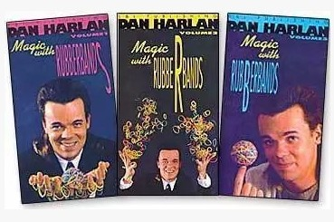 Dan Harlan - Magic With Rubber Bands 3sets