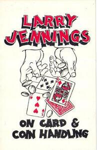 Larry Jennings - On Card And Coin Handling