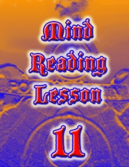 Mind Reading Lesson 11 by Kenton Knepper