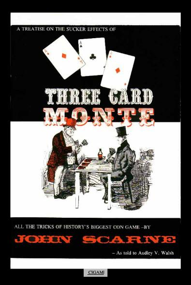 John Scarne - Three Card Monte