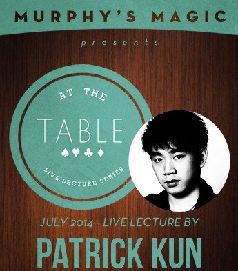 At the Table Live Lecture - Patrick Kun