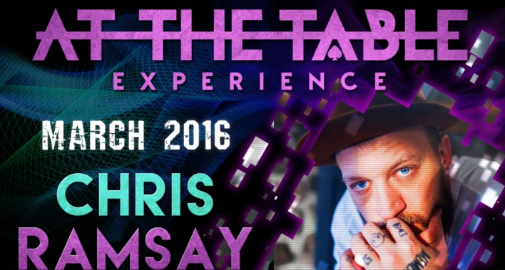 At the Table Live Lecture Chris Ramsay March 2nd