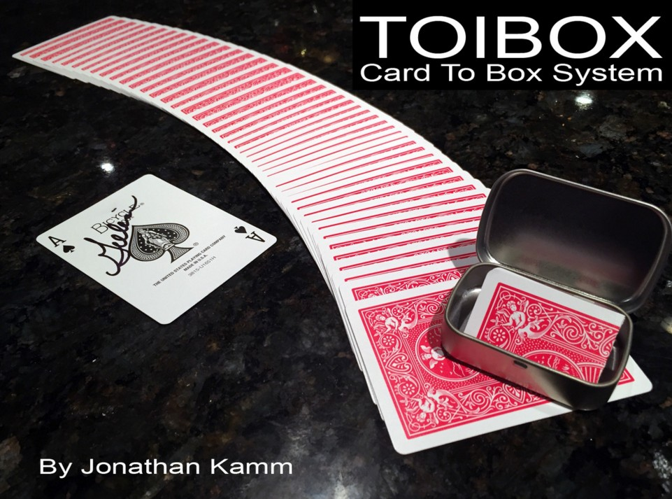 Toibox Card To Box System by Jonathan Kamm (Instant Download)