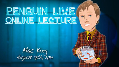 Mac King Penguin Live Online Lecture