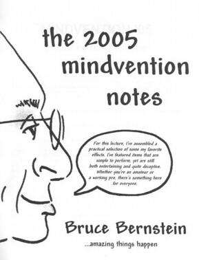 Bruce Bernstein - Mindvention 2005