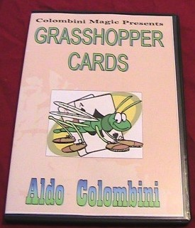 Aldo Colombini - GRASSHOPPER CARDS