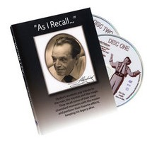 As I Recall - Tony Slydini (2 DVD Set)
