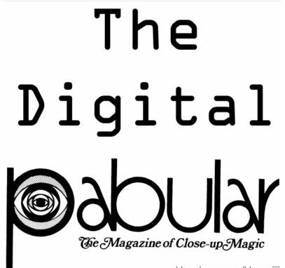 The Digital Pabular PDF (1423 pages)