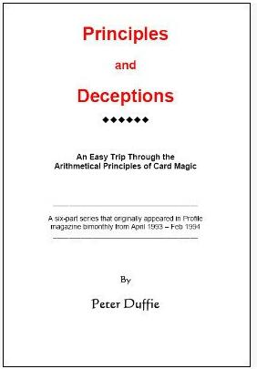 Peter Duffie - Principles and Deceptions