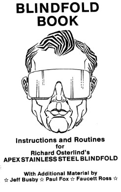Richard Osterlind - The Blindfold Book