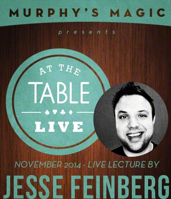 At the Table Live Lecture - Jesse Feinberg