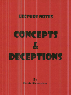 Barrie Richardson - Concepts And Deceptions