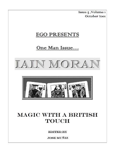 Iain Moran - Magic With A British Touch