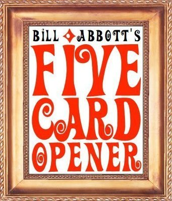 Five Card Opener by Bill Abbott (video + PDF)
