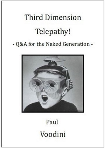 3rd Dimension Telepathy By Paul Voodini PDF